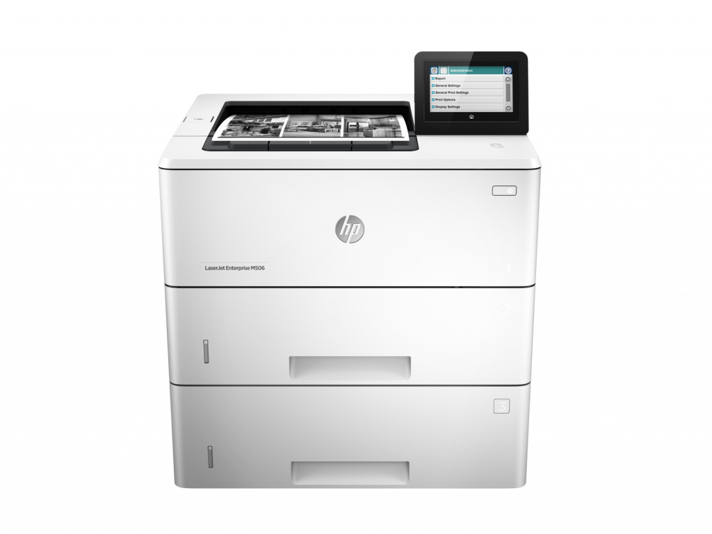HP M506 Enterprise Mono Printer saves energy.