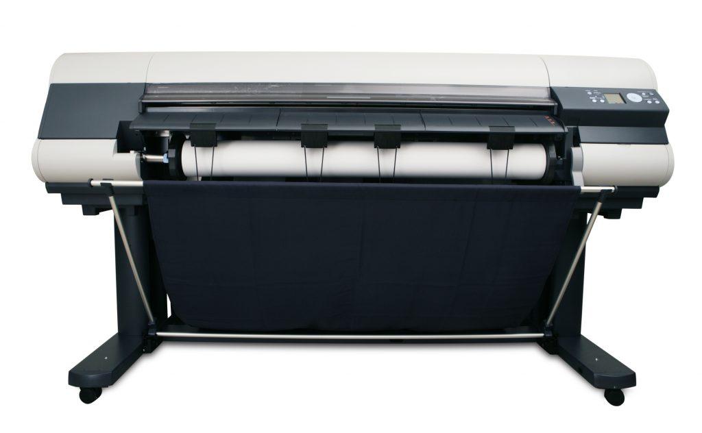 Wide format printer.