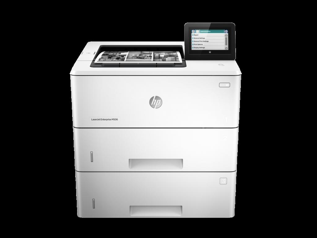 HP M506 Enterprise Mono Printer saves energy.