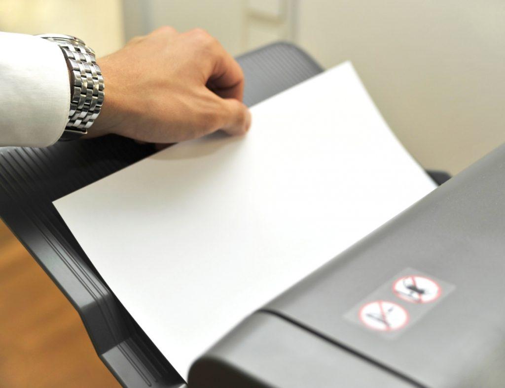 Use Eco friendly printer when printing.