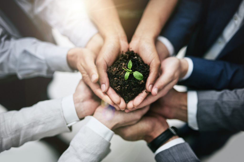 Being ecofriendly in businesses is a team effort.